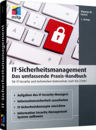 IT-Sicherheitsmanagement, ISBN: 978-3-7475-0146-7, Best.Nr. ITP-0146, erschienen 04/2021, € 49,99