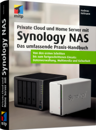 Private Cloud und Home Server mit Synology NAS, ISBN: 978-3-7475-0149-8, Best.Nr. ITP-0149, erschienen 09/2020, € 29,99