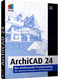 ArchiCAD 24, ISBN: 978-3-7475-0228-0, Best.Nr. ITP-0228, € 39,99