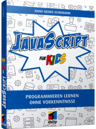 JavaScript für Kids, ISBN: 978-3-7475-0263-1, Best.Nr. ITP-0263, erschienen , € 22,00