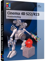 Cinema 4D S22/R23, ISBN: 978-3-7475-0290-7, Best.Nr. ITP-0290, erschienen 10/2020, € 39,99