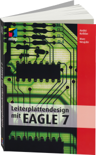 Leiterplattendesign mit EAGLE 7, Best.Nr. ITP-064, € 39,99