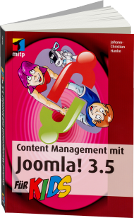 Content Management mit Joomla! 3.5 für Kids, Best.Nr. ITP-404, € 19,99