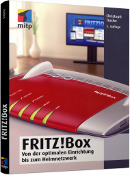 FRITZ!Box, ISBN: 978-3-95845-522-1, Best.Nr. ITP-522, erschienen 11/2016, € 19,99