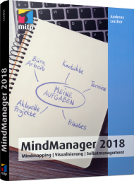 MindManager 2018, ISBN: 978-3-95845-622-8, Best.Nr. ITP-622, erschienen 06/2018, € 22,00