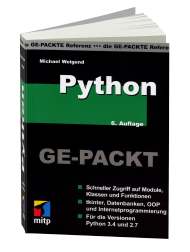 Python GE-PACKT, Best.Nr. ITP-8726, € 22,99