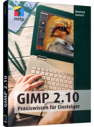 GIMP 2.10, ISBN: 978-3-95845-881-9, Best.Nr. ITP-881, erschienen 09/2018, € 24,99