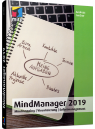 MindManager 2019, ISBN: 978-3-95845-926-7, Best.Nr. ITP-926, erschienen 04/2019, € 24,99