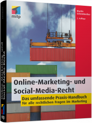 Online-Marketing- und Social-Media-Recht, ISBN: 978-3-8266-9498-1, Best.Nr. ITP-9498, erschienen 02/2017, € 39,99
