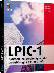 LPIC-1, ISBN: 978-3-95845-956-4, Best.Nr. ITP-956, erschienen 01/2020, € 33,00