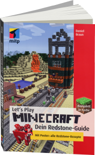Let's Play Minecraft - Dein Redstone-Guide, Best.Nr. ITP-9678, € 16,99