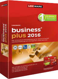 Lexware business plus 2016, Best.Nr. LX-1154, € 379,00