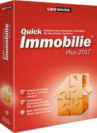 QuickImmobilie plus 2017, Best.Nr. LX-1164, € 92,95