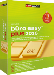 Lexware büro easy plus 2016, Best.Nr. LX-4141, € 219,00
