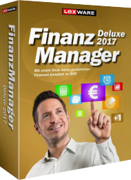 Lexware Finanzmanager Deluxe 2017 f�r 2 PCs, Best.Nr. LX-6053, € 65,95