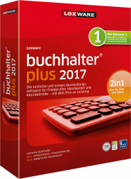 Lexware buchhalter plus 2017 (Download), Best.Nr. LXO1170, € 249,00