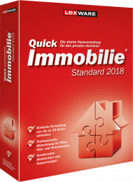 QuickImmobilie standard 2018 (Download), Best.Nr. LXO1183, erschienen 06/2017, € 67,95