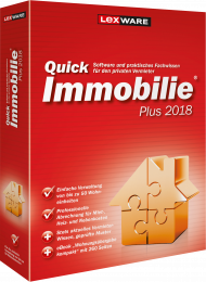 QuickImmobilie plus 2018 (Download), Best.Nr. LXO1184, erschienen 06/2017, € 109,00