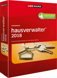 Lexware hausverwalter 2018 (Download), Best.Nr. LXO1185, erschienen 06/2017, € 249,00