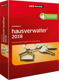 Lexware hausverwalter plus 2018 (Download), Best.Nr. LXO1186, € 349,00