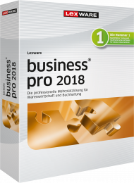 Lexware business pro 2018 (Download), Best.Nr. LXO1195, € 699,00