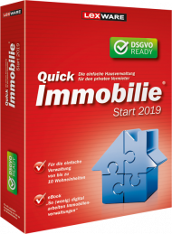 QuickImmobilie start 2019 (Download), Best.Nr. LXO1199, erschienen 06/2018, € 53,45