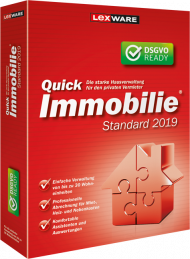 QuickImmobilie standard 2019 (Download), Best.Nr. LXO1200, erschienen 06/2018, € 83,25