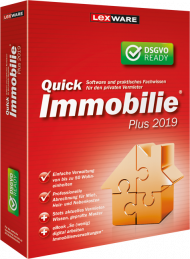 QuickImmobilie plus 2019 (Download), Best.Nr. LXO1201, erschienen 06/2018, € 126,70