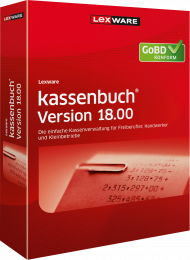 Lexware kassenbuch Version 18.00 / 2019 (Download), Best.Nr. LXO1204, erschienen 06/2018, € 87,85