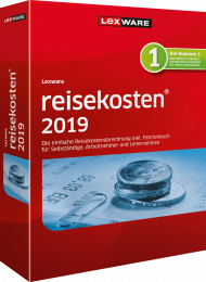 Lexware reisekosten 2019 (Download), EAN: 9783648117767, Best.Nr. LXO1207, erschienen 11/2018, € 106,80