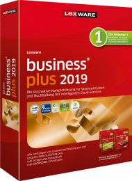 Lexware business plus 2019 (Download), EAN: 9783648119099, Best.Nr. LXO1213, erschienen 12/2018, € 367,70