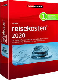 Lexware reisekosten 2020 Jahresversion (Download), EAN: 9783648128220, Best.Nr. LXO1224, erschienen 11/2019, € 109,95