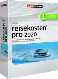Lexware reisekosten pro 2020 Jahresversion (Download), EAN: 9783648133972, Best.Nr. LXO1226, erschienen 11/2019, € 529,95
