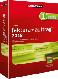 Lexware faktura+auftrag 2018 (Download), Best.Nr. LXO3057, € 129,95