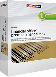 Lexware financial office premium handel 2017 (Download), EAN: 9783648087060, Best.Nr. LXO4160, erschienen 12/2016, € 1.099,00