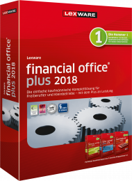 Lexware financial office plus 2018 (Download), EAN: 9783648102510, Best.Nr. LXO4164, erschienen 11/2017, € 489,00