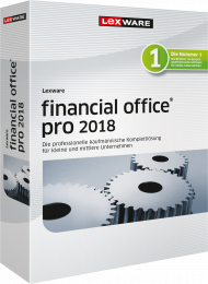 Lexware financial office pro 2018 (Download), EAN: 9783648102299, Best.Nr. LXO4165, erschienen 12/2017, € 829,00