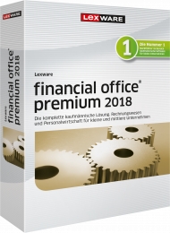 Lexware financial office premium 2018 (Download), EAN: 9783648100998, Best.Nr. LXO4166, erschienen 12/2017, € 1.099,00