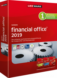 Lexware financial office 2019 (Download), EAN: 9783648115725, Best.Nr. LXO4174, erschienen 11/2018, € 393,70