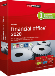 Lexware financial office 2020 Jahresversion (Download), EAN: 9783648133866, Best.Nr. LXO4185, erschienen 11/2019, € 399,00