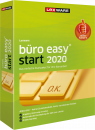 Lexware büro easy start 2020 Jahresversion (Download), EAN: 9783648126356, Best.Nr. LXO4193, erschienen 12/2019, € 89,95