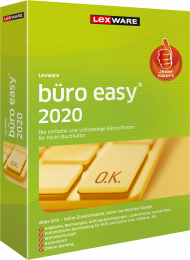 Lexware büro easy 2020 Jahresversion (Download), EAN: 9783648130766, Best.Nr. LXO4194, erschienen 12/2019, € 139,95