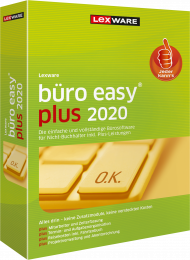 Lexware büro easy plus 2020 Jahresversion (Download), EAN: 9783648126561, Best.Nr. LXO4195, erschienen 12/2019, € 219,95