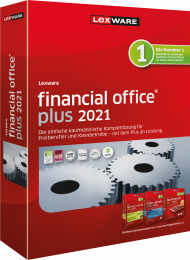Lexware financial office plus 2021 Jahresversion (Download), EAN: 9783648144152, Best.Nr. LXO4197, erschienen 11/2020, € 599,00