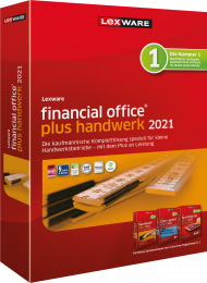Lexware financial office plus handwerk 2021 Jahresversion (ESD), EAN: 9783648144411, Best.Nr. LXO4198, erschienen 12/2020, € 599,00