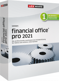 Lexware financial office pro 2021 Jahresversion (Download), EAN: 9783648145418, Best.Nr. LXO4199, erschienen 12/2020, € 999,00