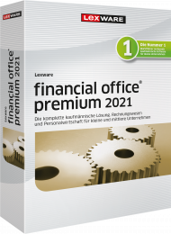 Lexware financial office premium 2021 Jahresversion (Download), EAN: 9783648143919, Best.Nr. LXO4200, erschienen 12/2020, € 1.349,00