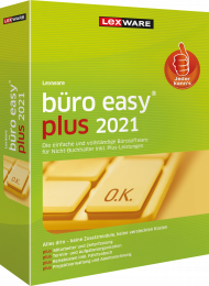 Lexware büro easy plus 2021 Jahresversion (Download), EAN: 9783648144558, Best.Nr. LXO4205, erschienen 12/2020, € 259,00