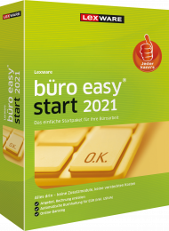 Lexware büro easy start 2021 Jahresversion (Download), EAN: 9783648144527, Best.Nr. LXO4206, erschienen 12/2020, € 119,00