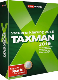 TAXMAN 2016 (Download), Best.Nr. LXO5033, € 29,95